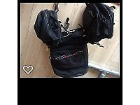 Motorbike RDM panniers and tail bag. Excellent condition, hardly used