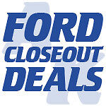 Ford Close Out Deals