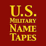 U.S. Military Name Tapes