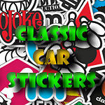 classiccarstickers