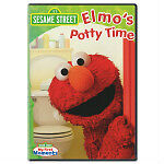 Elmo DVDs in english, each one $ 8