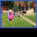 Little Tikes Car & Princess Bike