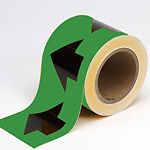 Brady Pipe Marker, Arrow Tape, Brady label, 91416, 91421, roll Oakville / Halton Region Toronto (GTA) image 2