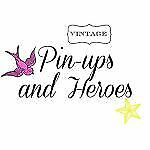 Vintage Pin-ups and Heroes