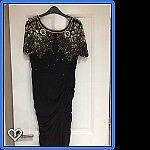 Black Virgos Lounge Dress