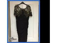 Black Virgos Lounge Dress