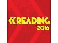 2 X READING FESTIVAL TICKETS