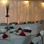 Beautiful chair covers for your event.
