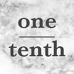 one-tenth
