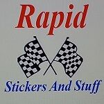 Rapid Stickers And Stuff