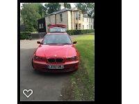 BMW 325TI COMPACT M-Sport 200BhP Petrol RED