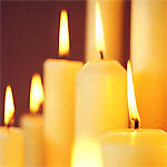 Genuine church candles with beeswax  6
