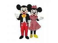 MINNIE AND MICKEY AFFORDABLE MASCOT HIRE (COVERING ALL AREAS WITHIN LONDON) COSTUME OR ENTERTAINERS