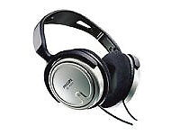 Philips SBCHP250 Full-Size Headphones. 6 M cord. In line control.