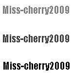 miss-cherry2009
