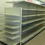 Shelving gondola (used),racking for mannequin,showcase display