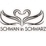Schwaninschwarz-Gothic-Punk-Mode