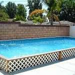 REDUCED only 5K 12 X 18 Islander in/out ground swimming pool kit