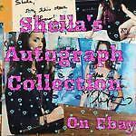 Sheila's Autograph Collection