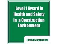 Level 1 Health and Safety