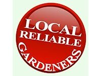 Part time and near full time hours working for local gardening company