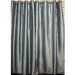10 colour Faux Silk Window Curtains