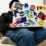 Laptop and Desktop Stickers