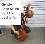 Sitar with cover&case,  $250 or best offer