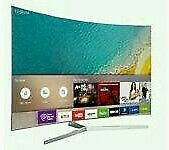 "Samsung 49"" Curved 4K UHD HDR smart wifi new model ue49ku6670"