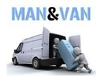 Man and van. Same day Removals