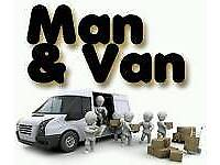 Short Notice, 7 Days A Week Man And Van Removal From £15 House/Move From £60