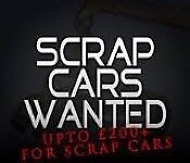£50 - £500 for SCRAP CARS & MOT failures SAME DAY COLLECTION