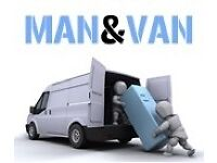man with a van - same day availability - 24hr / 24/7 - removals - cheap! reliable!