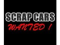 We buy all scrap vehicles any age or condition