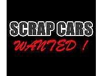 Scrap cars wanted also for cash best prices paid