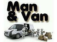 Short Notice, From 8AM to 11PM 7 Days A Week Man And Van Removal