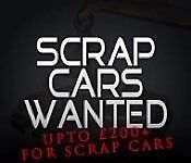 Scrap cars vans wanted non runners spares or repairs salvage damaged car vans wanted £250