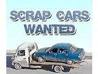 Scrap cars and vans wanted dead or alive