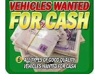 INSTANT CASH FOR CARS, VANS, CARAVANS, MOTORHOMES ETC