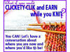 Calling All Knitters & Crafters - Clickety Click & Earn Whilst You Knit Elland