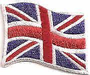 Union Jack Sew on Badge