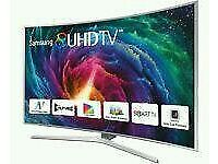 """SAMSUNG 65"""" Curved SUHD SUPER 4K SMART 3D WI-FI HD FREEVIEW"""