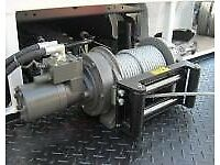 8000lb hydrolic winch ramsey winch new inc rope