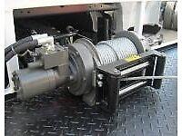 8000lb ramsey hydrolic recovery winch