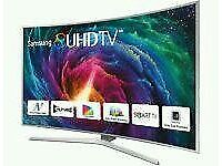 "SAMSUNG 65"" Curved SUHD SUPER 4K SMART 3D WI-FI HD FREEVIEW"
