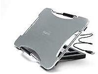 Dicota Porter Flex - notebook arms & stands (Aluminium, Silver, 390 x 260 x 40 mm)