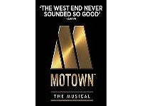 MOTOWN SHOW SHAFTESBURY THEATRE 1st JULY EVENING SHOW