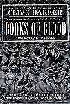 Clive Barker Books of Blood