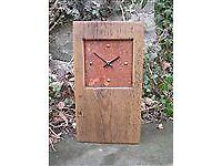 Designate Products Wooden Designer clock