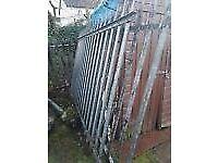 Metal Palisade Fencing and posts